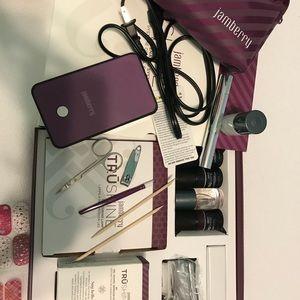 Jamberry Huge Lot- Gel Kit, Dryer Kit, Nail Wraps